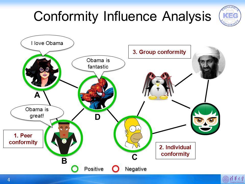 Conformity Influence Analysis