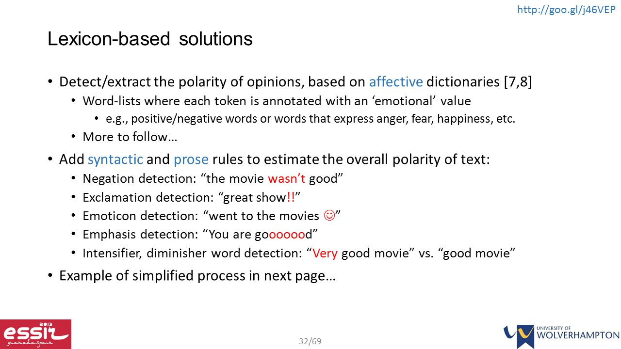 Lexicon-based solutions