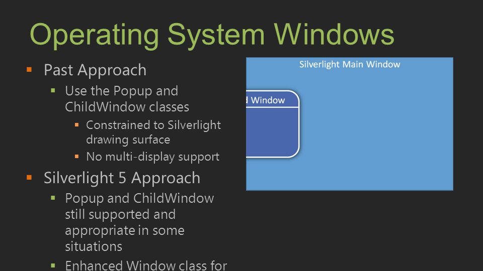 Operating System Windows