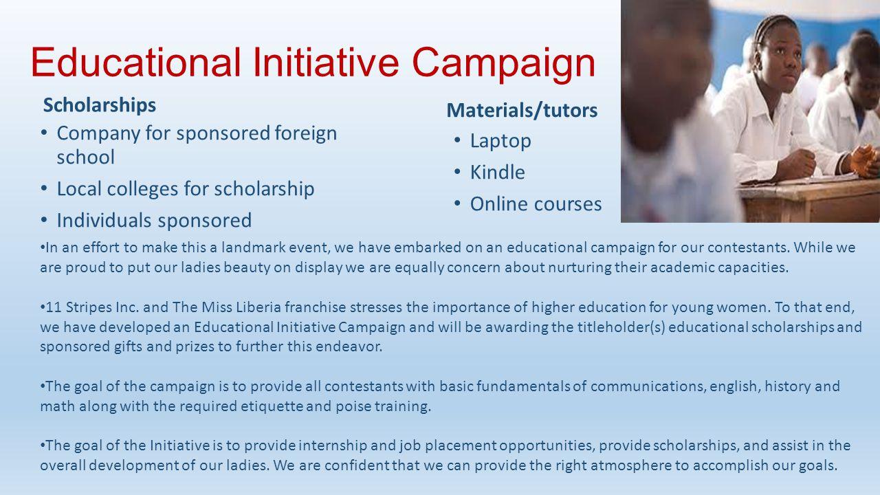 Educational Initiative Campaign