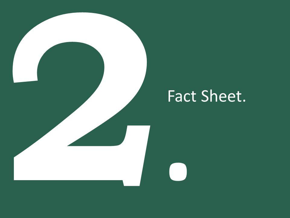 2. Fact Sheet.