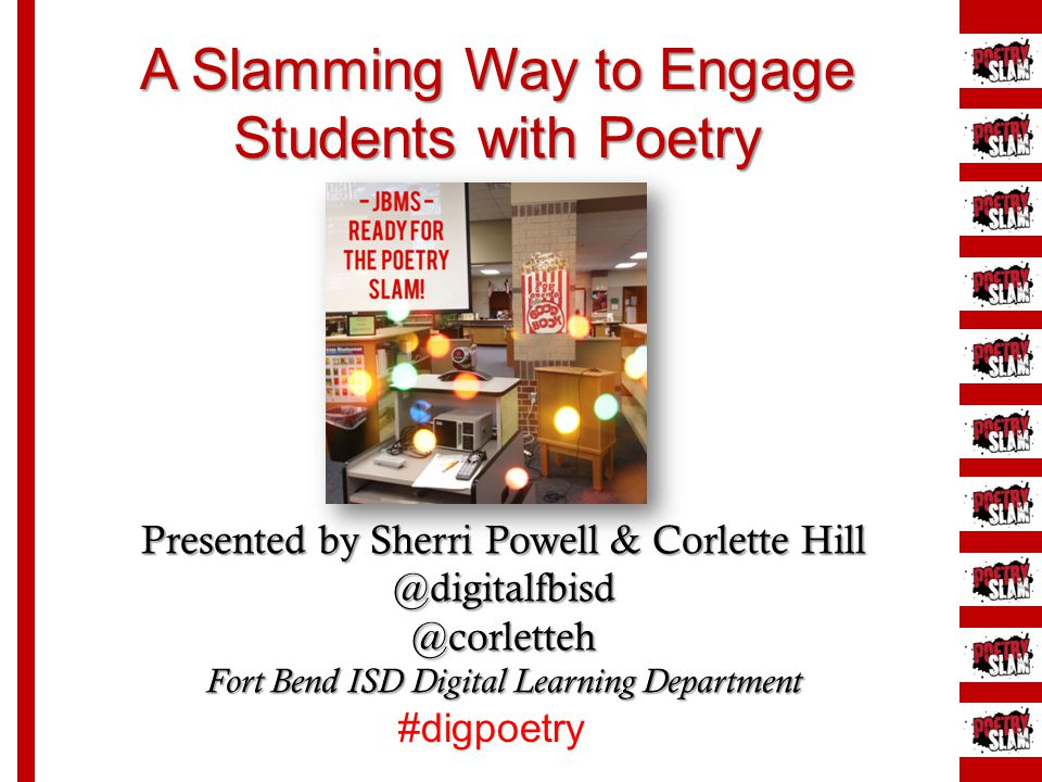 A Slamming Way to Engage Students with Poetry