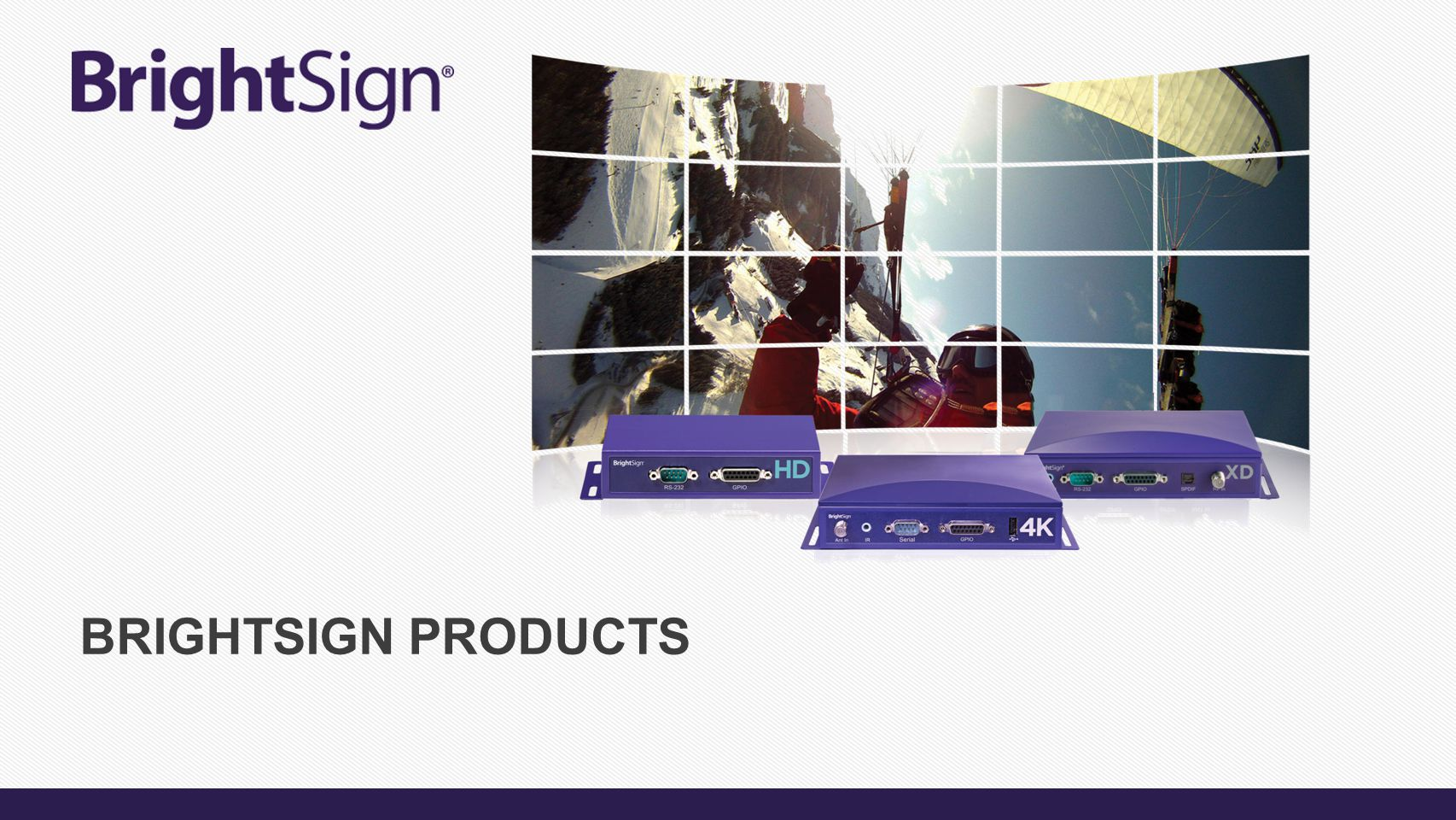 BrightSign Products