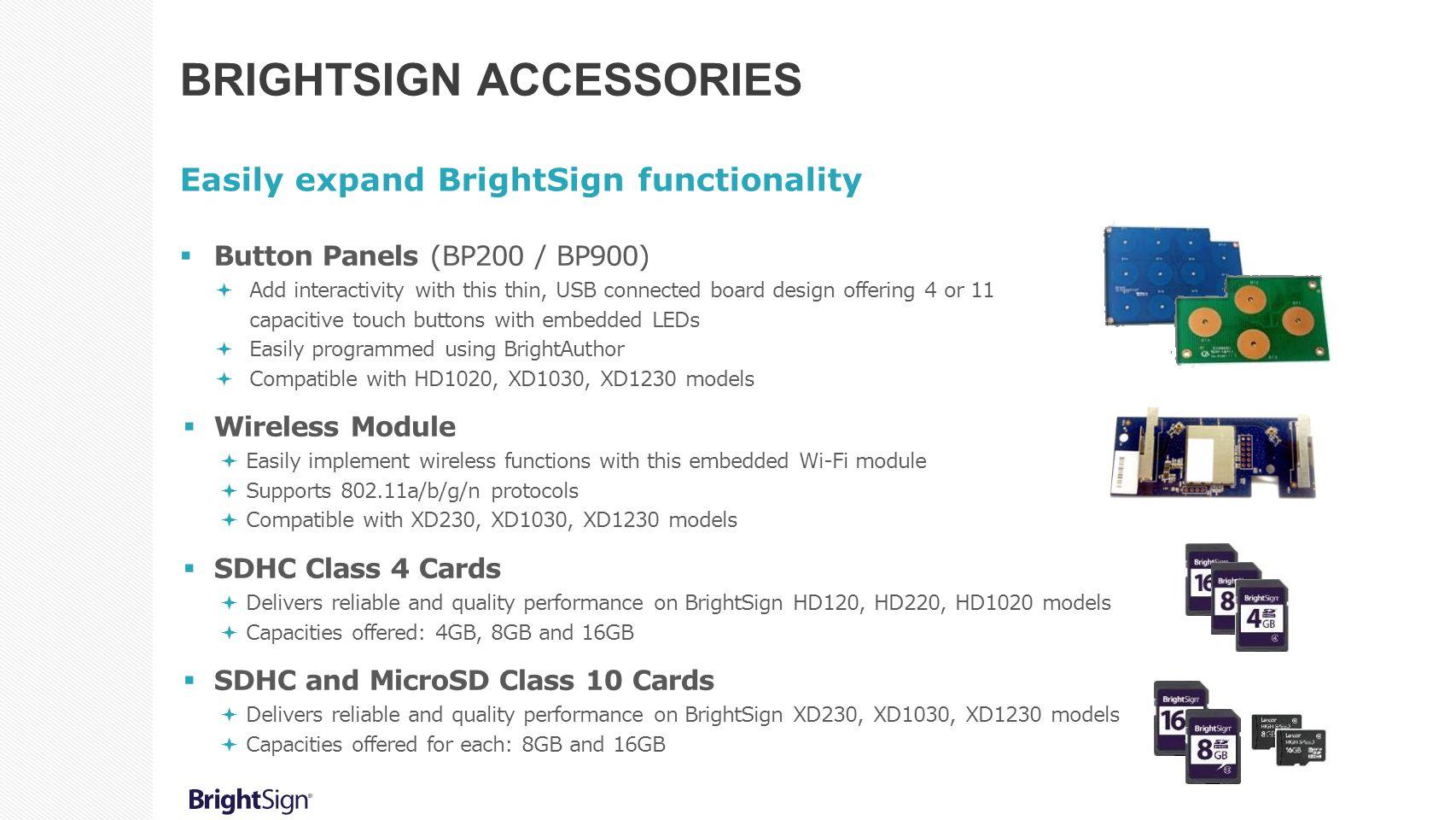 BrightSign Accessories