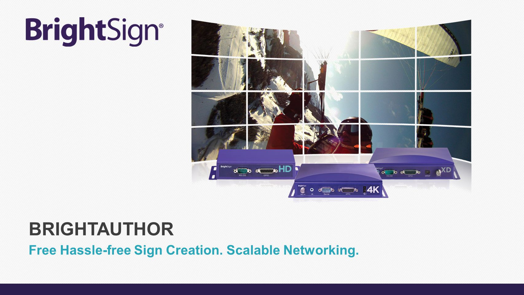 Free Hassle-free Sign Creation. Scalable Networking.