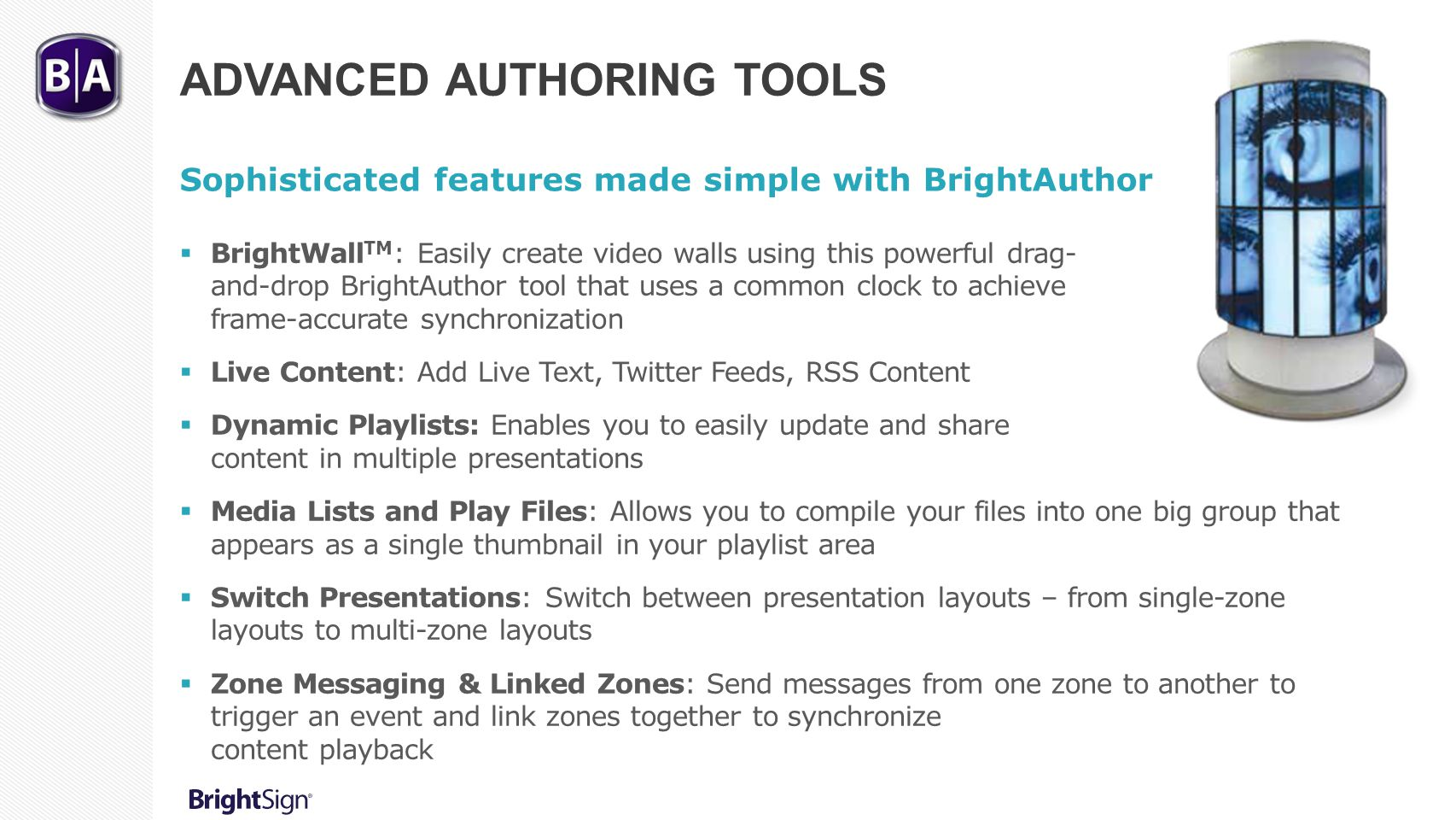 Advanced Authoring Tools