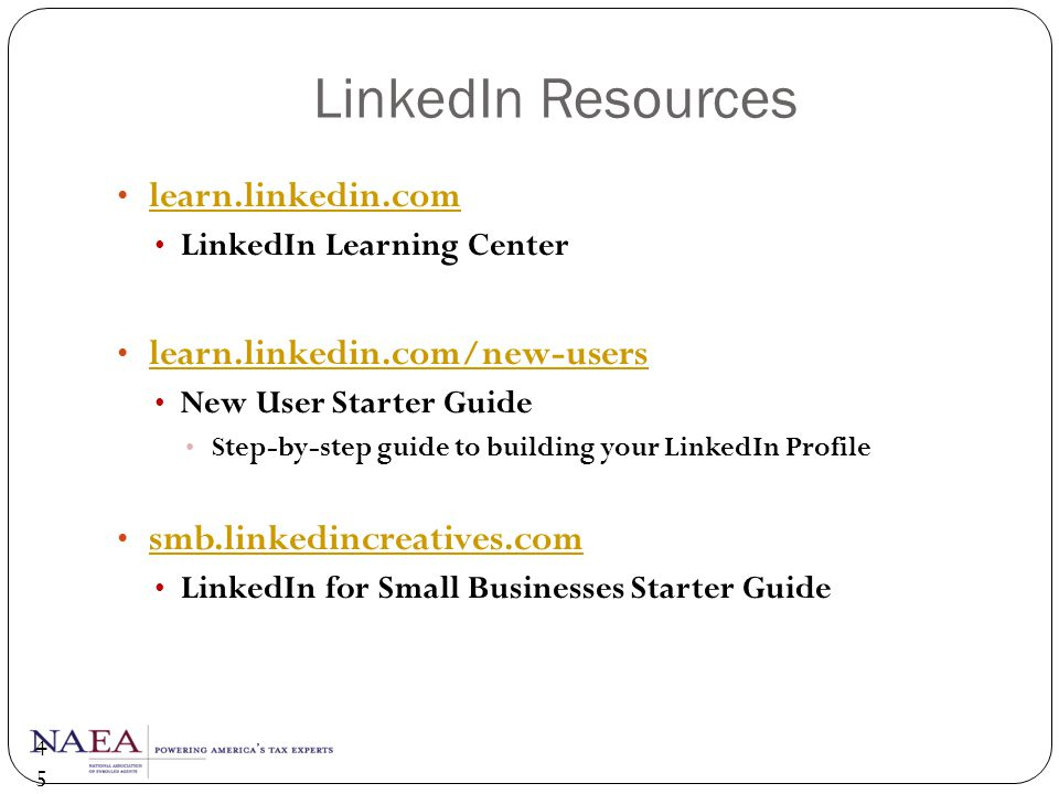 LinkedIn Resources learn.linkedin.com learn.linkedin.com/new-users