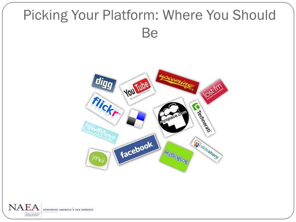 Picking Your Platform: Where You Should Be