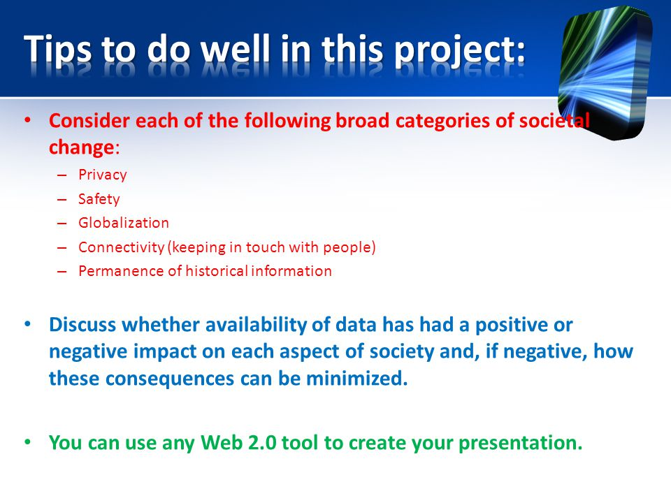 Tips to do well in this project: