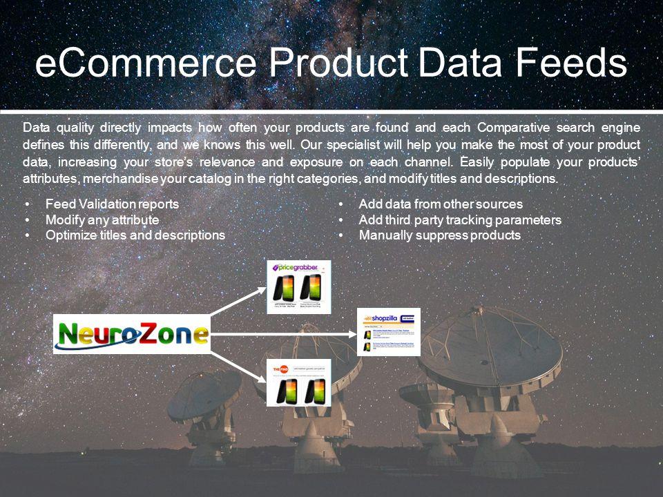 eCommerce Product Data Feeds