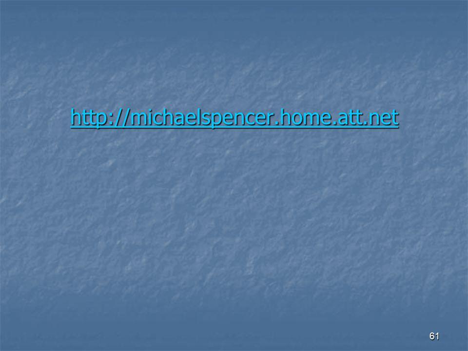 http://michaelspencer.home.att.net