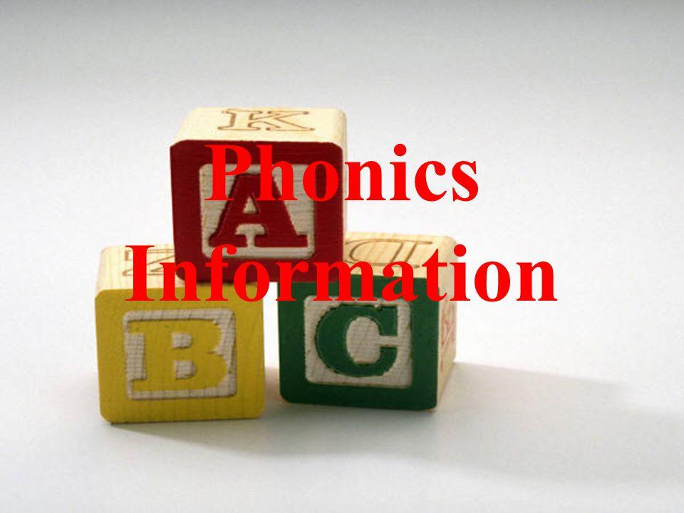 Phonics Information