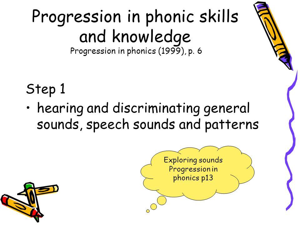 Progression in phonics p13