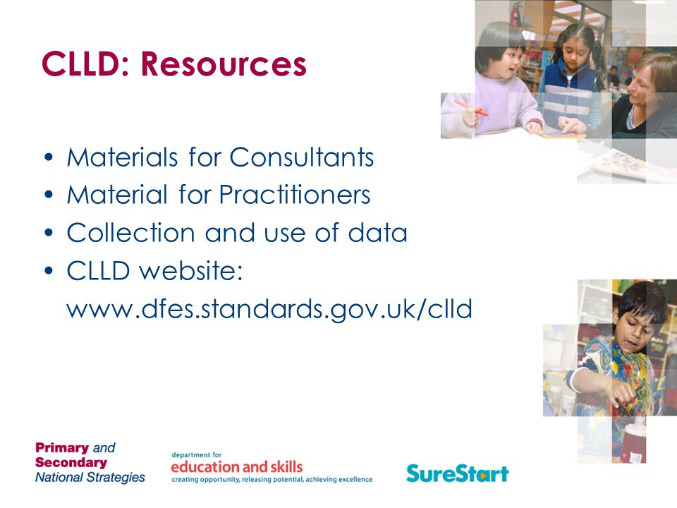CLLD: Resources Materials for Consultants Material for Practitioners