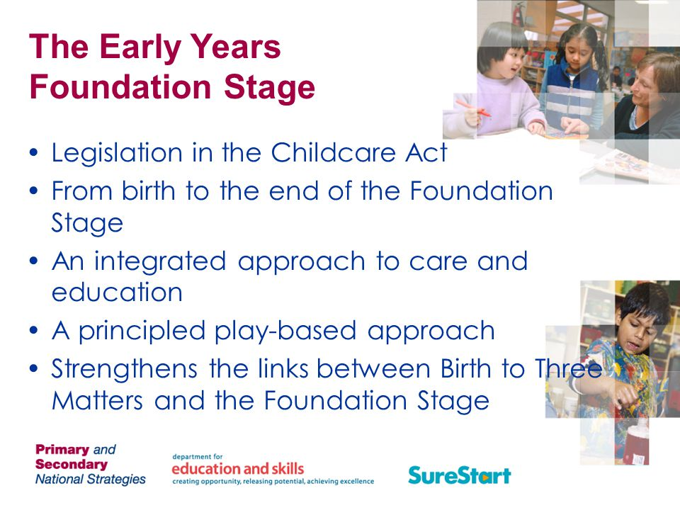 Early education and childcare