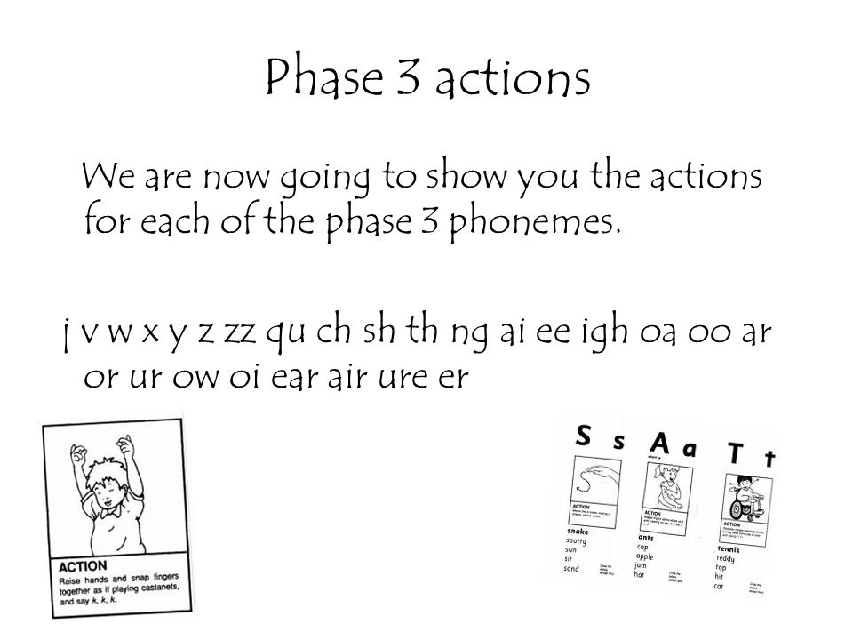 Phase 3 actions