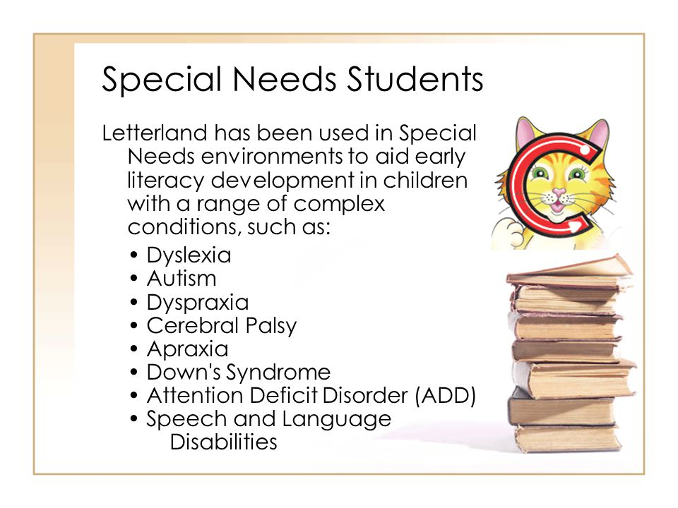 Special Needs Students