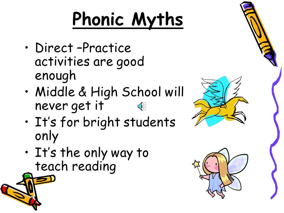 Phonic Myths Direct –Practice activities are good enough
