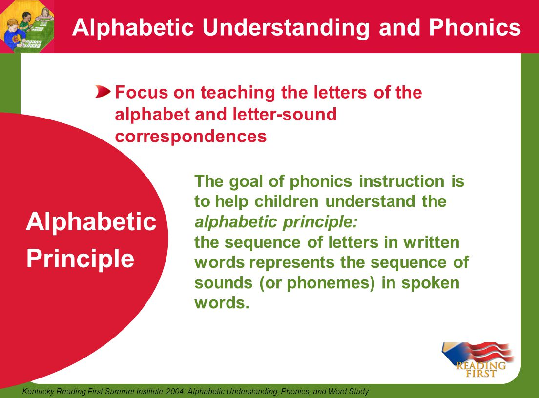understanding the use of phonics Early years educator level 3: understanding phonics  your learners could  make their own story sacks to share in class or use with children in their.