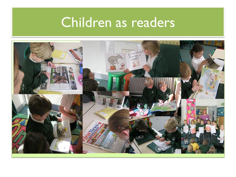 Children as readers hh