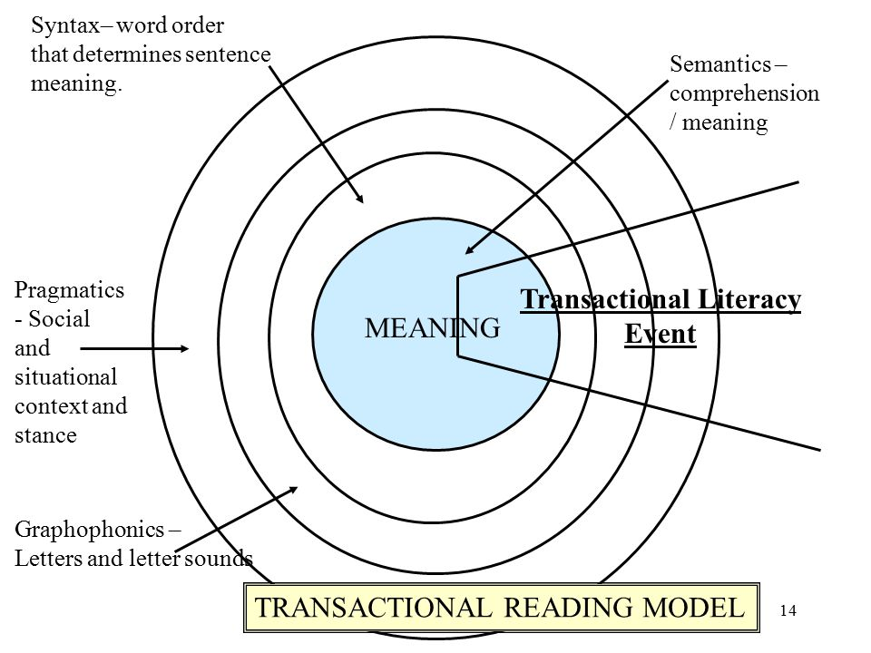 Transactional Literacy Event