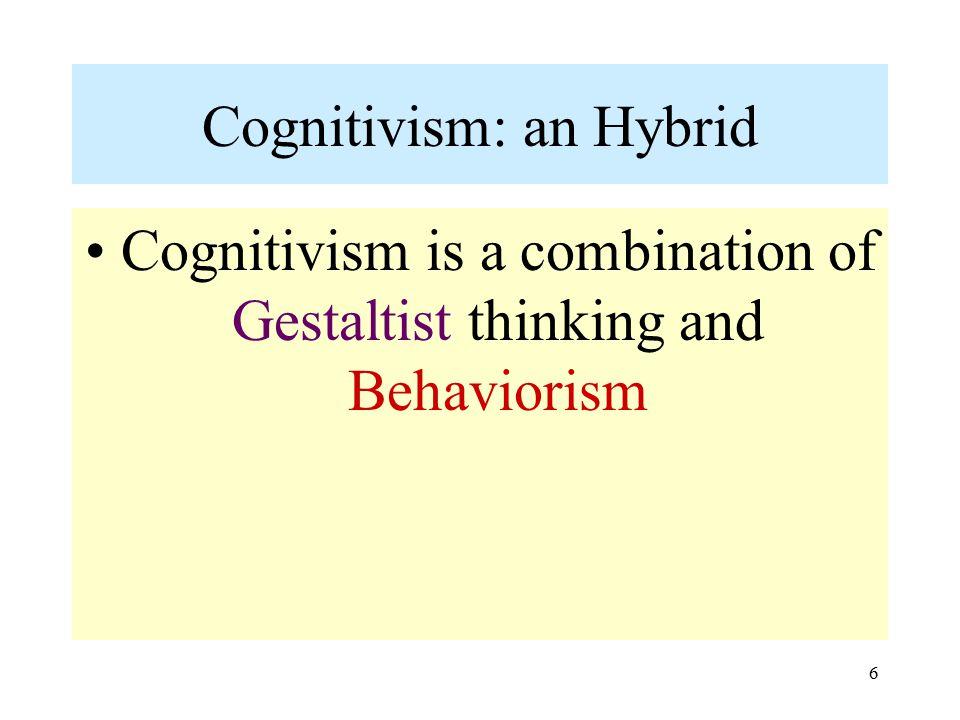 Cognitivism: an Hybrid