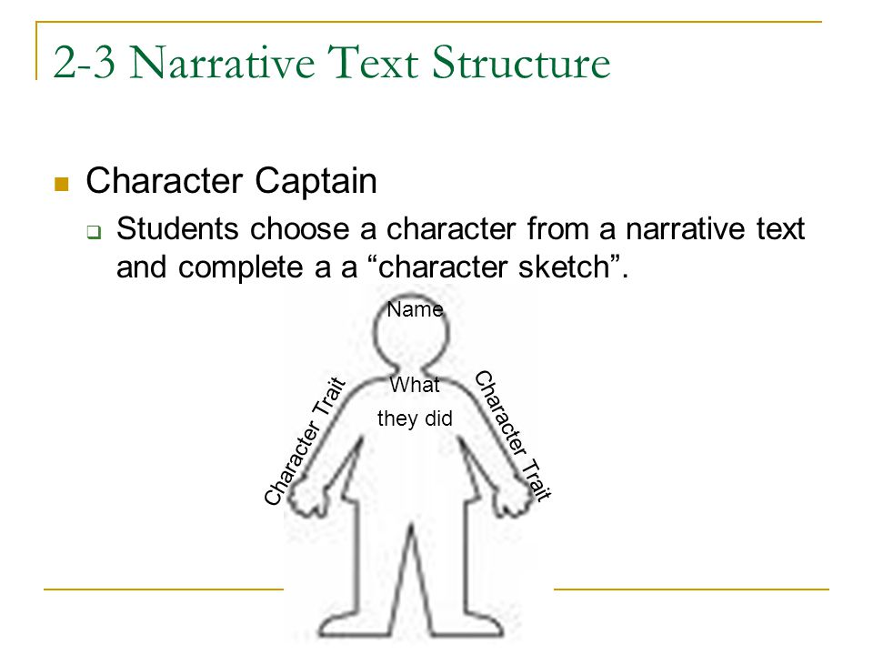 2-3 Narrative Text Structure