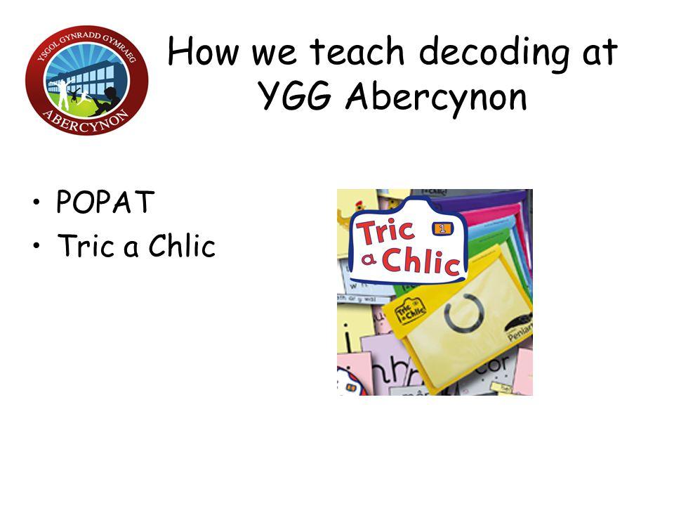 How we teach decoding at YGG Abercynon
