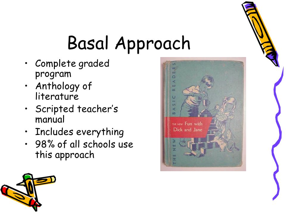 Basal Approach Complete graded program Anthology of literature