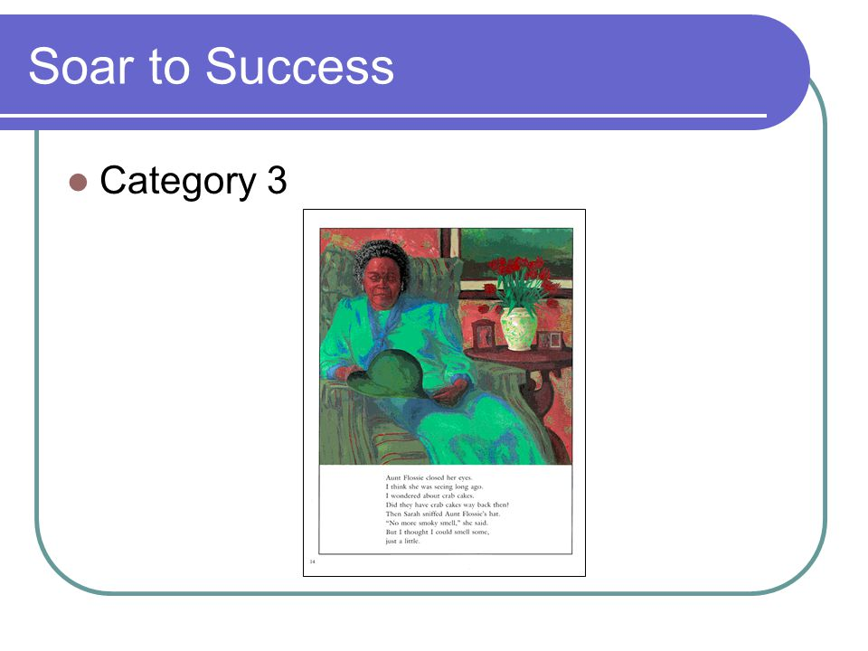 Soar to Success Category 3