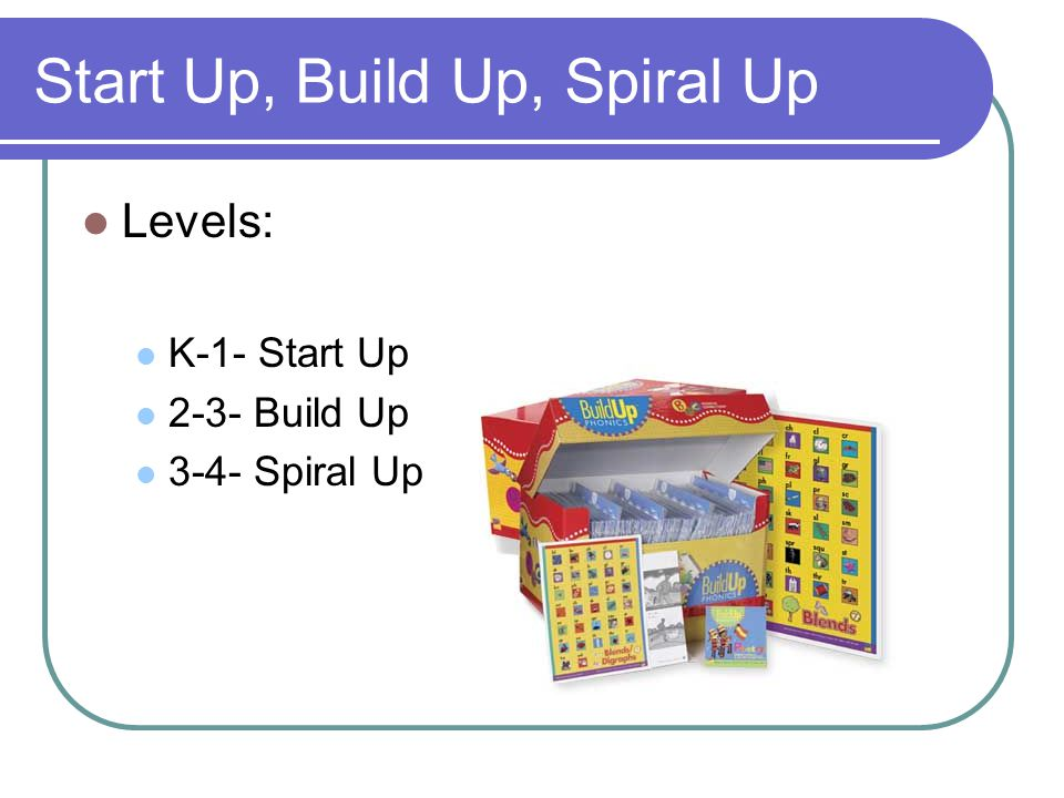 Start Up, Build Up, Spiral Up