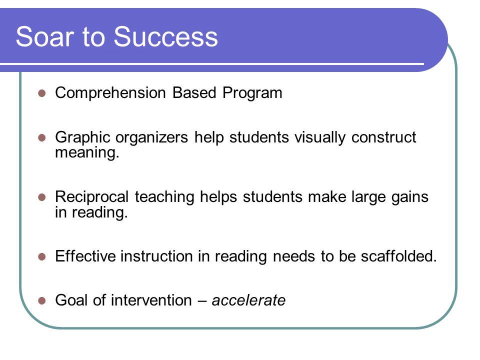 Soar to Success Comprehension Based Program