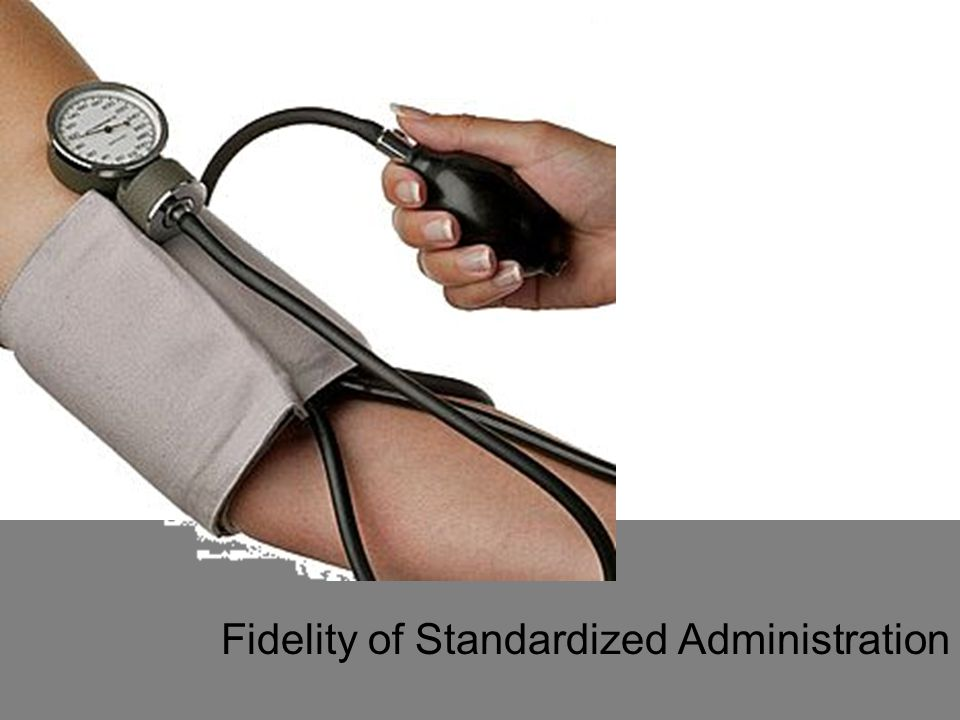 Fidelity of Standardized Administration