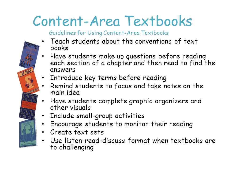 Content-Area Textbooks