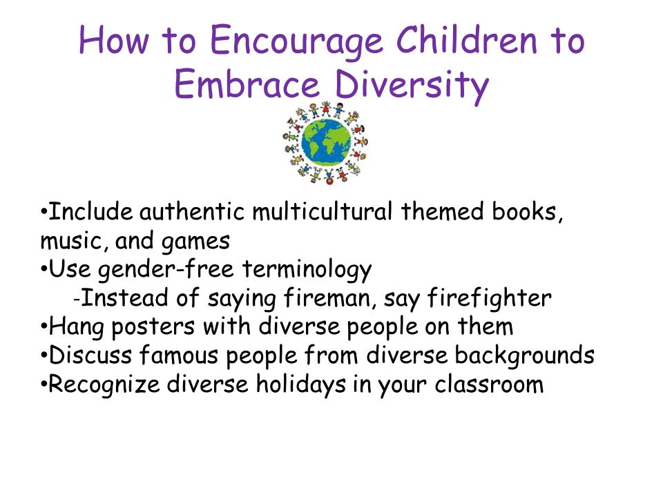 How to Encourage Children to Embrace Diversity