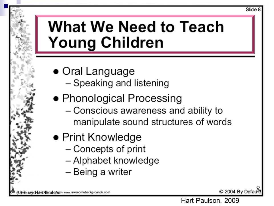 Here's what we do to help students go from speech to print