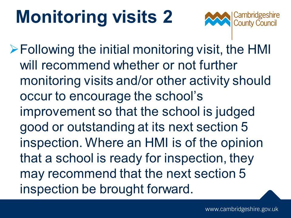 Monitoring visits 2