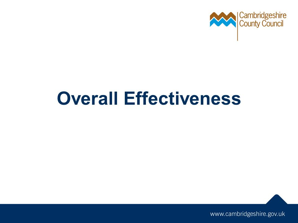 Overall Effectiveness