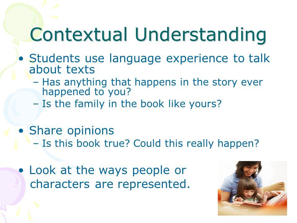 Contextual Understanding