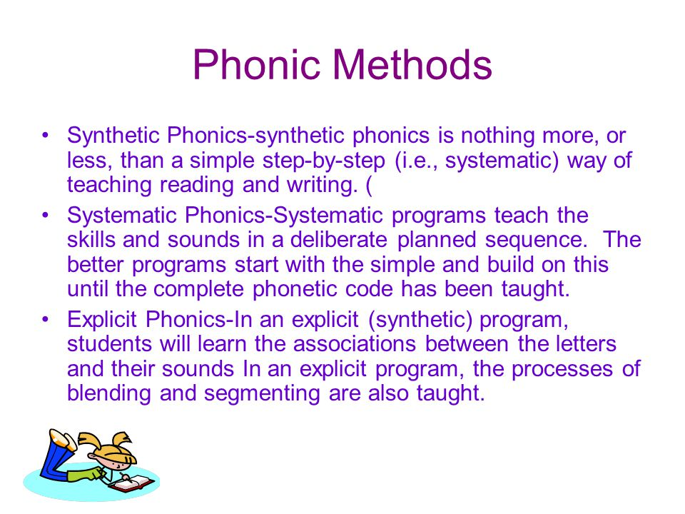 Phonic Methods