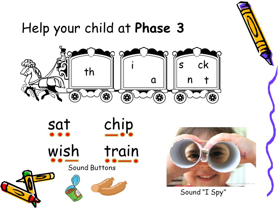 Help your child at Phase 3