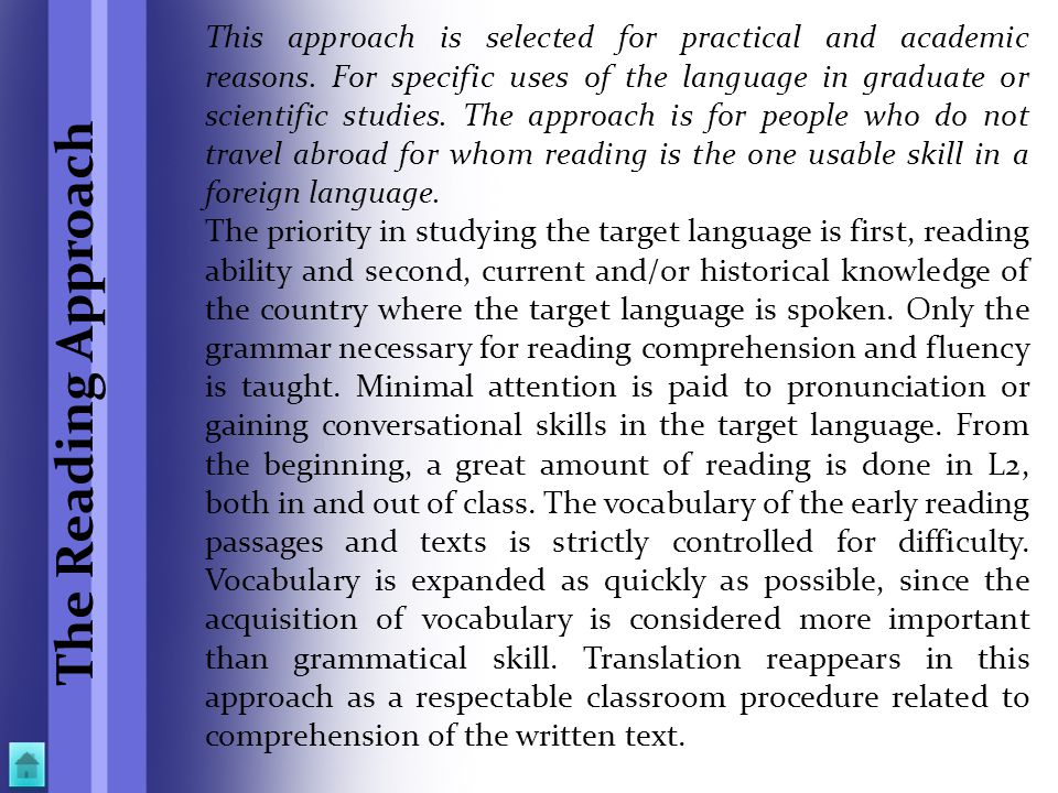 This approach is selected for practical and academic reasons