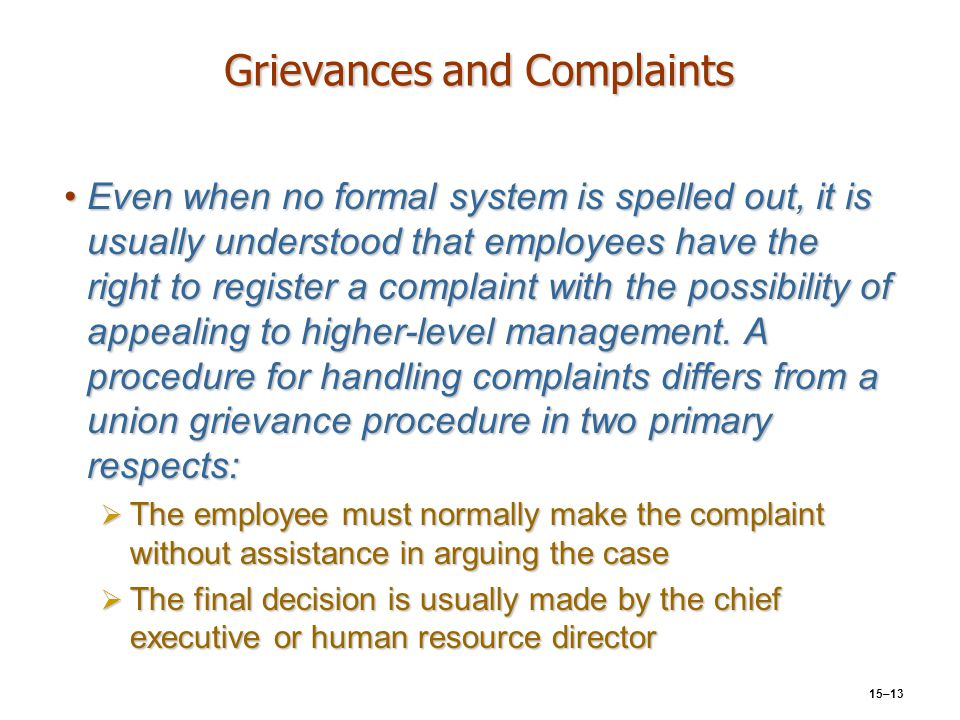 grievances and complaints To help prevent your hospital from being found out of compliance with the cms grievance regulations, join this webinar it will also discuss the joint commission standards on complaints and dnv healthcare on grievances and how these cross walk to the cms grievance interpretive guidelines.