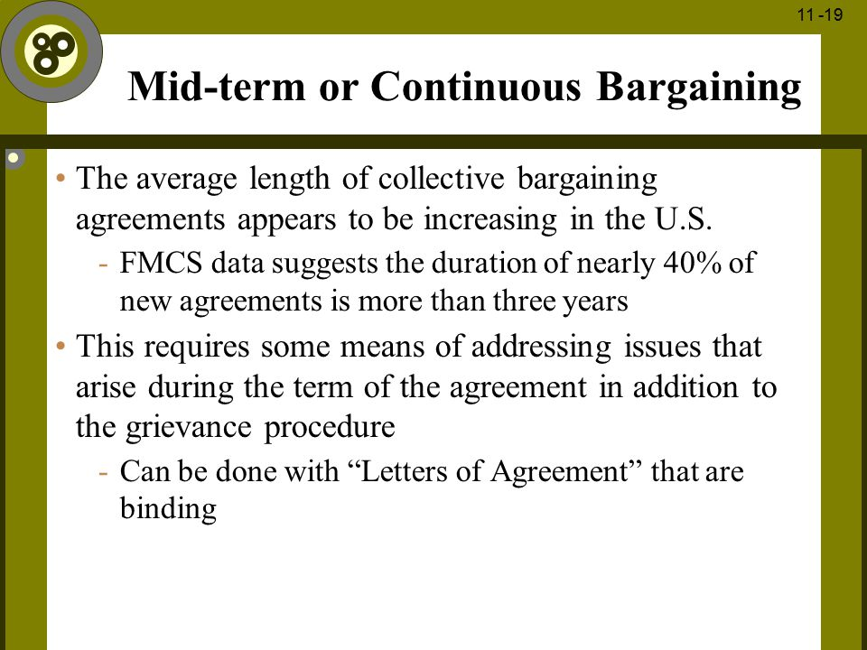 Mid-term or Continuous Bargaining