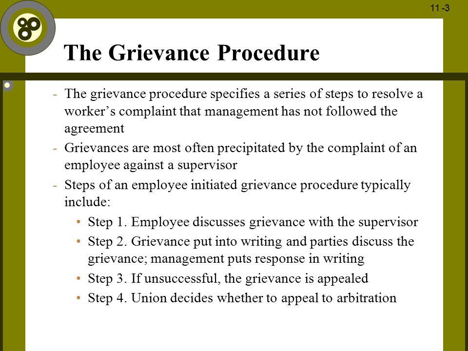 The Grievance Procedure