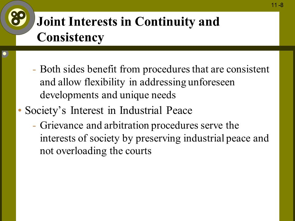 Joint Interests in Continuity and Consistency