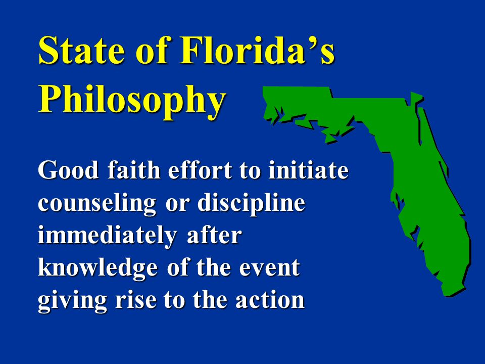 State of Florida's Philosophy