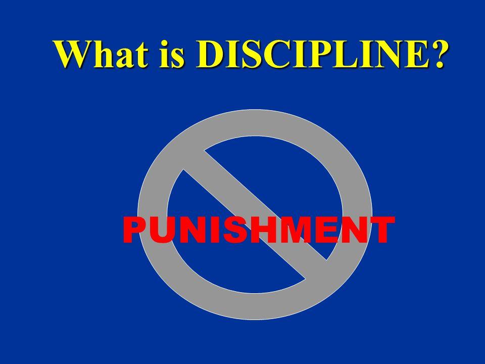 What is DISCIPLINE PUNISHMENT