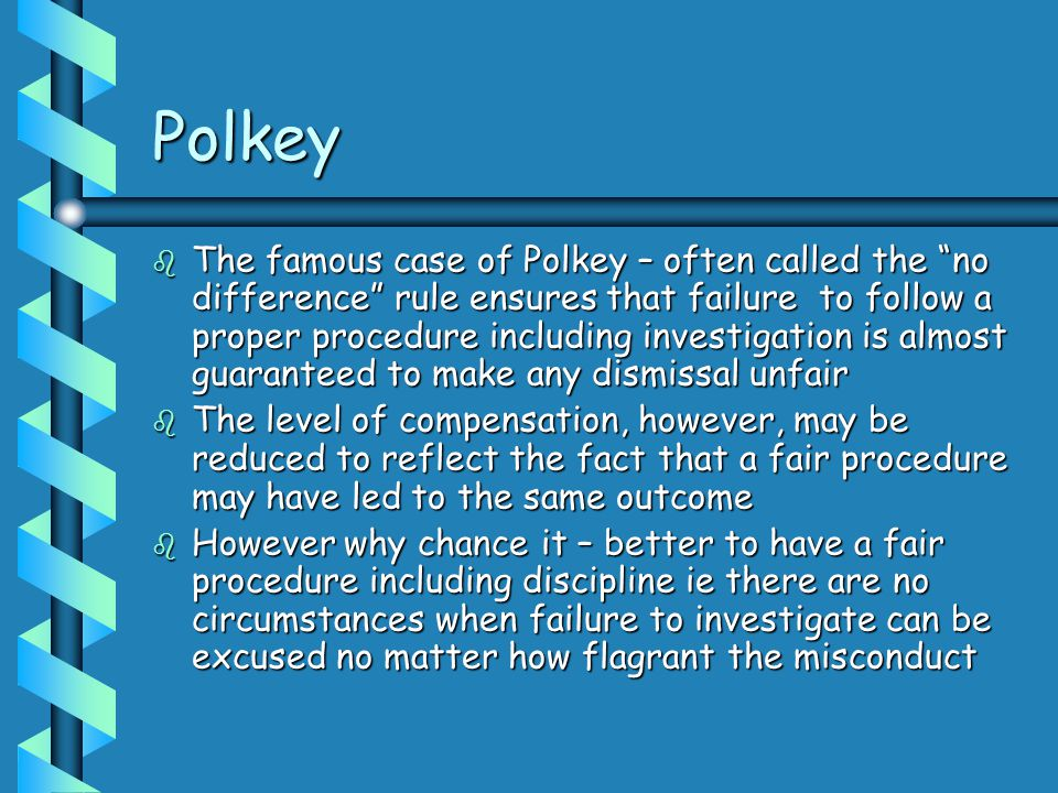 Polkey