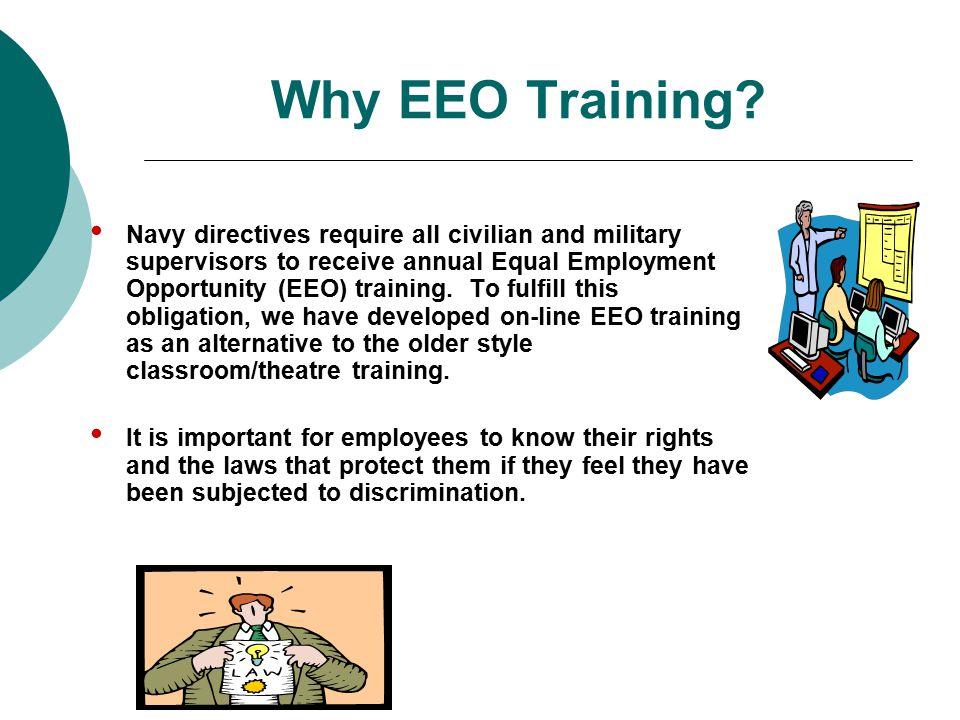 Why EEO Training